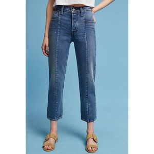 levi's altered straight 27 ankle length